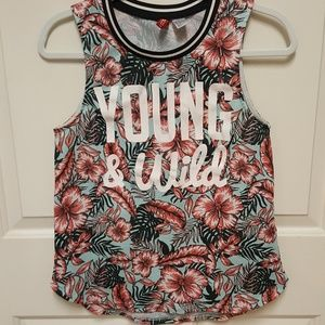 """""""Divided""""  Young & Wild t-shirt"""